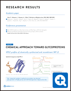 CHEMICAL APPROACH TOWARD GLYCOPROTEINS